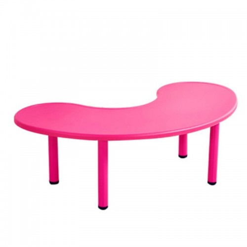 Παιδικό Τραπέζι πλαστικό μισοφέγγαρο σε φούξια χρώμα 026201 ΠΑΙΧΝΙΔΙΑ