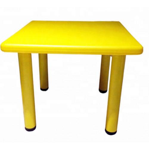 Παιδικό Τραπέζι πλαστικό τετράγωνο σε Κίτρινο χρώμα 0251 ΠΑΙΧΝΙΔΙΑ