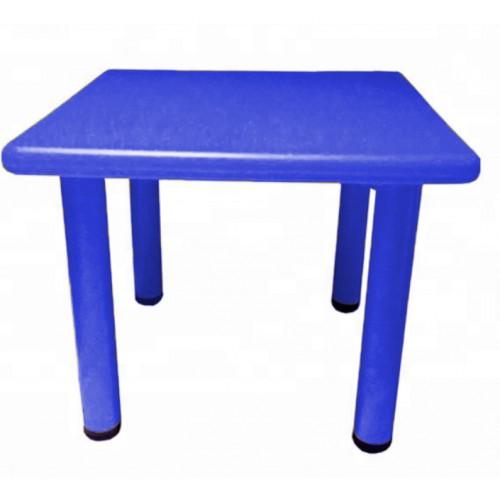 Παιδικό Τραπέζι πλαστικό τετράγωνο σε Μπλε χρώμα 0251 ΠΑΙΧΝΙΔΙΑ
