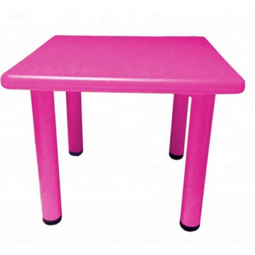 Παιδικό Τραπέζι πλαστικό τετράγωνο σε Φούξια χρώμα 0251 ΠΑΙΧΝΙΔΙΑ