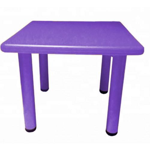 Παιδικό Τραπέζι πλαστικό τετράγωνο σε μωβ χρώμα 0251 ΠΑΙΧΝΙΔΙΑ