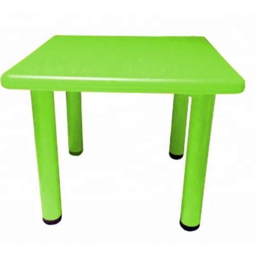 Παιδικό Τραπέζι πλαστικό τετράγωνο σε Πράσινο χρώμα 0251 ΠΑΙΧΝΙΔΙΑ