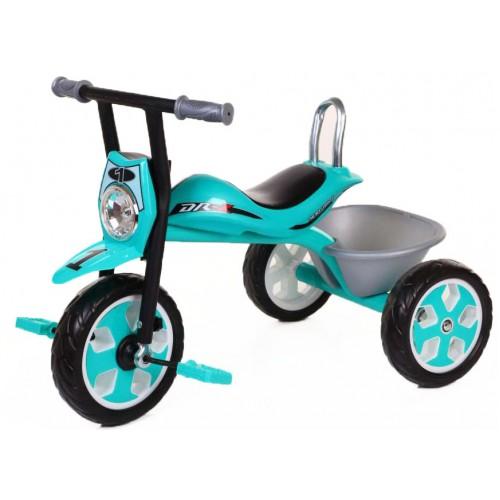 Παιδικό Τρίκυκλο Ποδήλατο Μηχανή FORALL σε Πράσινο χρώμα SDX4R Ποδήλατα