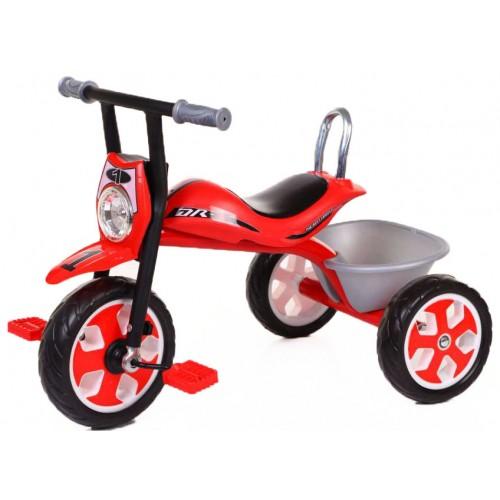 Παιδικό Τρίκυκλο Ποδήλατο Μηχανή FORALL σε Κόκκινο χρώμα SDX4R Ποδήλατα
