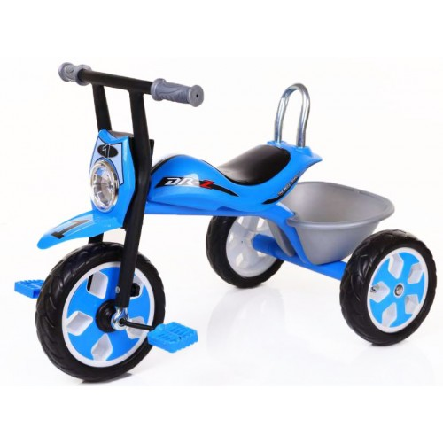 Παιδικό Τρίκυκλο Ποδήλατο Μηχανή FORALL σε Μπλε χρώμα SDX4R Ποδήλατα