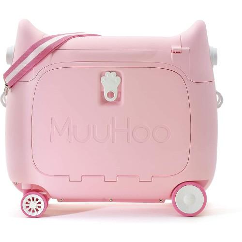 Παιδική Βαλίτσα Ταξιδιου Καμπίνας  τρόλευ Baby Pink Muuhoo Kids Luggage  ΠΑΙΧΝΙΔΙΑ