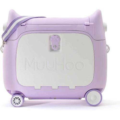 Παιδική Βαλίτσα Ταξιδιου Καμπίνας  τρόλευ Penguin Purple Kids Luggage  ΠΑΙΧΝΙΔΙΑ